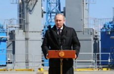 Владимир Путин приехал проводить главу МЧС России Евгения Зиничева в последний путь