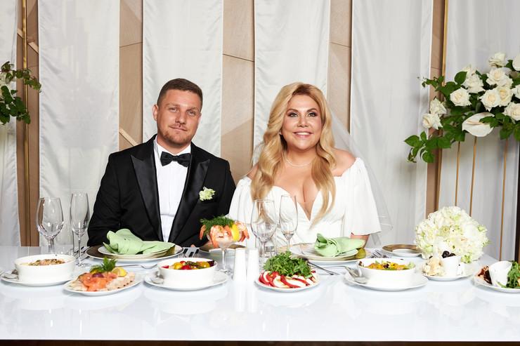 Марина Федункив и Стефано Маджи