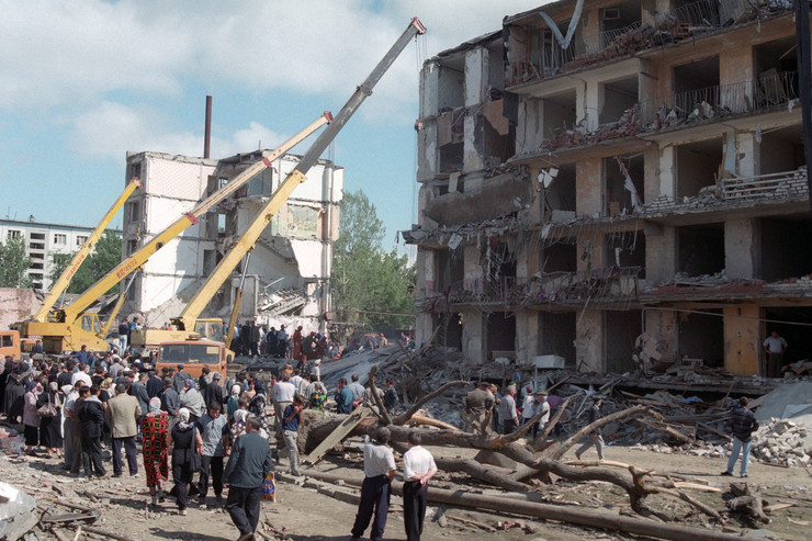 Взрыв приняли за землетрясение
