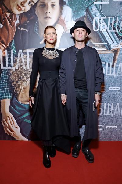 Рома Зверь с супругой