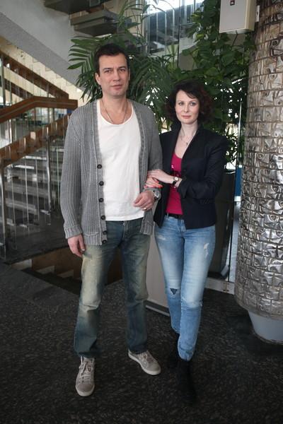 Супруг не ревнует актрису к ее постоянному партнеру по съемкам Андрею Чернышову