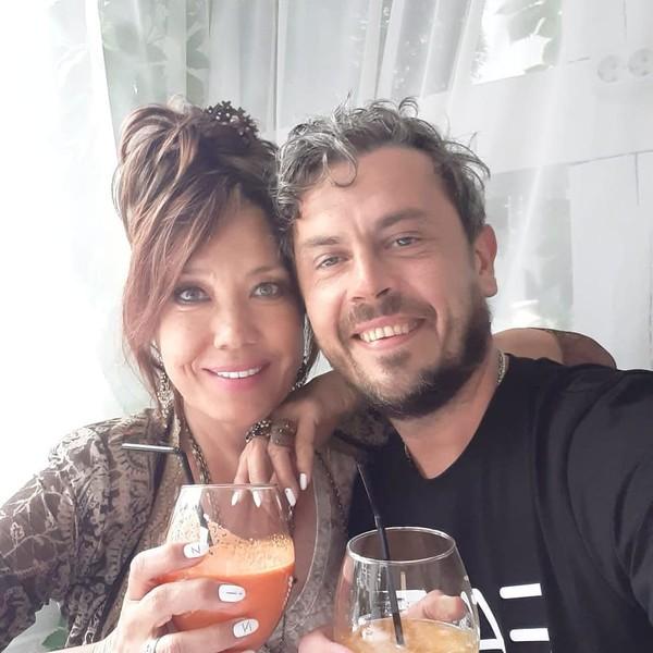 Азиза и ее муж Алессандро Лортэ (Александр Соколов)