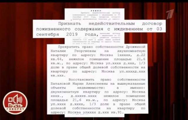 Суд вынес постановление в пользу семьи Баталова