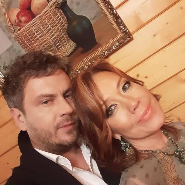 Алессандро Лортэ и певица Азиза