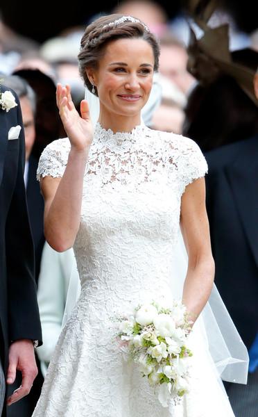 По мнению модных критиков, свадебное платье Пиппы было элегантным и утонченным