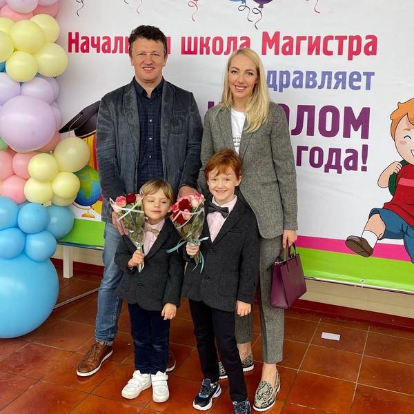 У Галины и Сергея, помимо дочери, подрастают двое сыновей