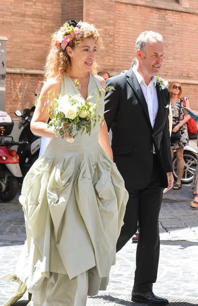 Муж актрисы Джонатан Стэмп был сопродюсером сериала «Рим»