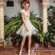 Эффектные свадебные платья – короткие платья