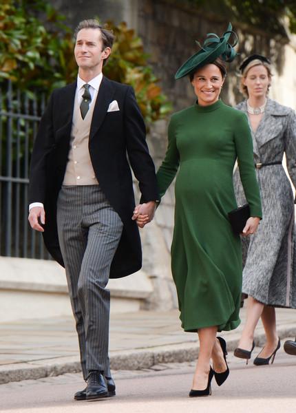 На свадьбе принцессы Евгении Пиппа появилась на последних сроках беременности