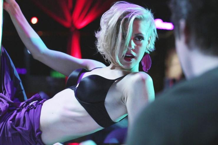 Ради роли в «Велкам хоум» актрисе пришлось много заниматься спортом и танцами