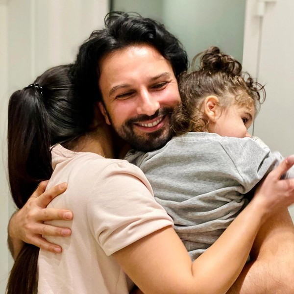 Артист и его супруга воспитывают дочь Лию