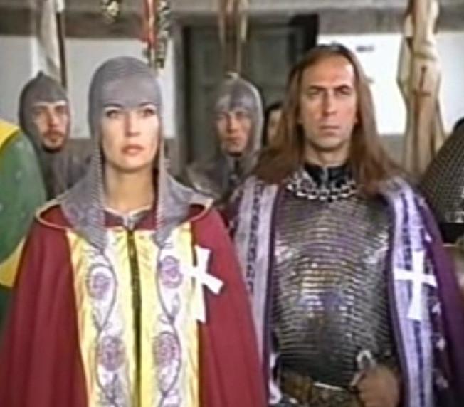 Иншаков и Сотникова сыграли влюбленных в картине «Рыцарский роман»