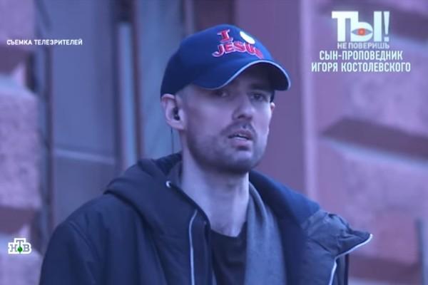 Алексей проповедует на улицах