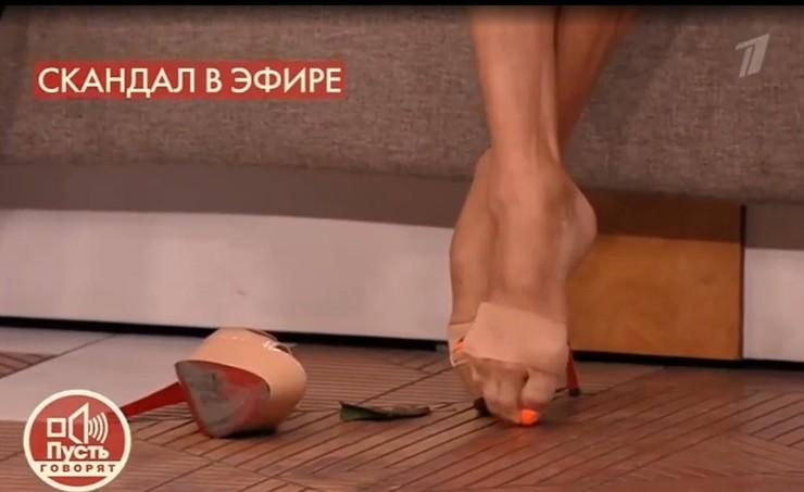 Балерина может ходить благодаря специальным повязкам