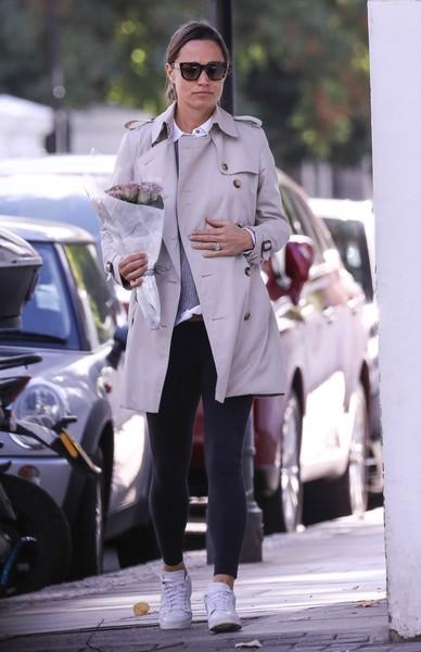 Сестра Кейт Миддлтон предпочитает одежду пастельных тонов