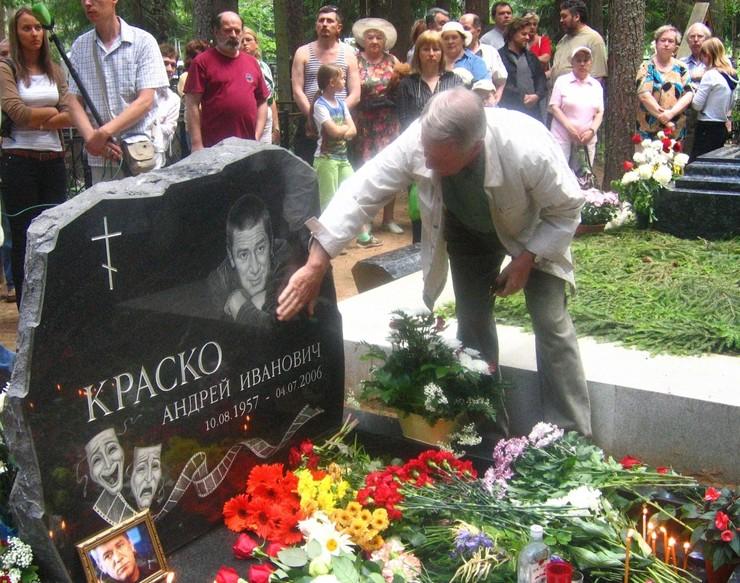 Иван Краско до сих пор говорит о смерти сына со слезами на глазах