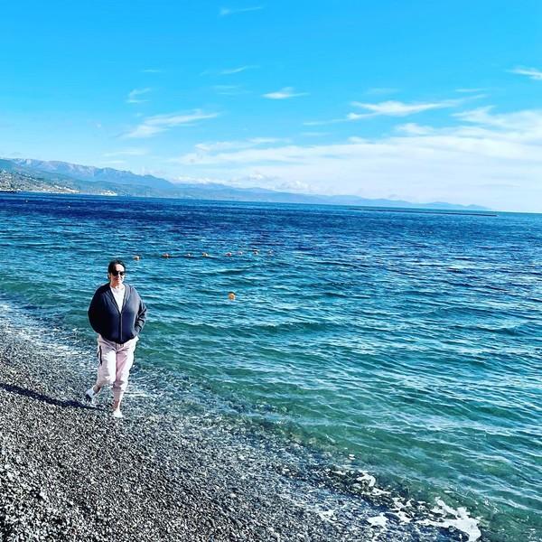 На днях Гузеева наслаждалась отдыхом в Крыму