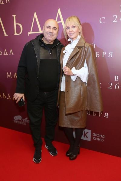 Иосиф Пригожин и певица Валерия