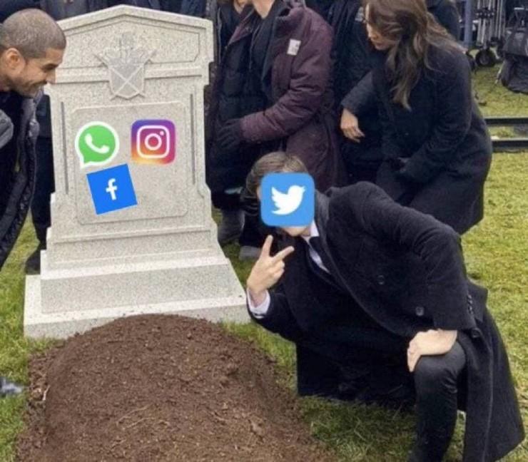 Новости: Наташа, Марк все уронил: шутки и мемы про глобальный сбой в работе Facebook, WhatsApp и Instagram  – фото №10