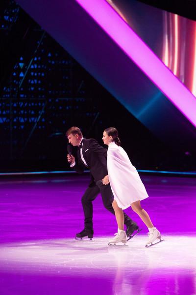 Сейчас Алина строит карьеру на телевидении, она является соведущей Алексея Ягудина в шоу «Ледниковый период»