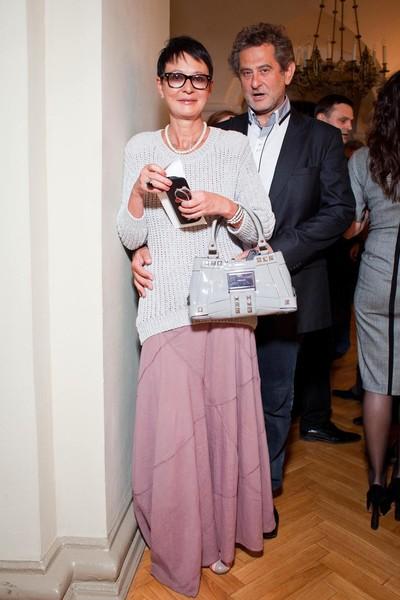 Ирина Хакамада с мужем
