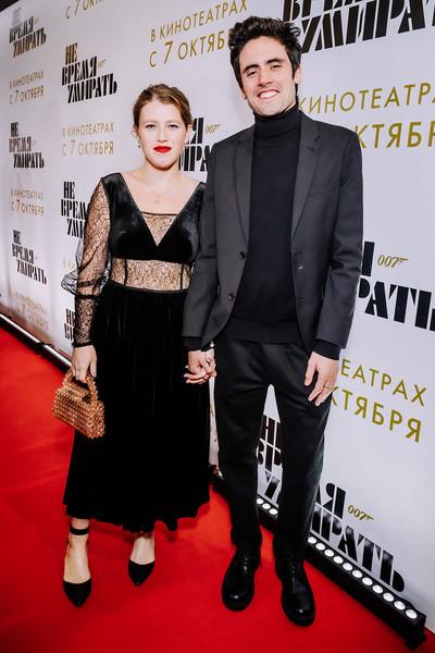 Варвара Шмыкова и Даниил Радлов