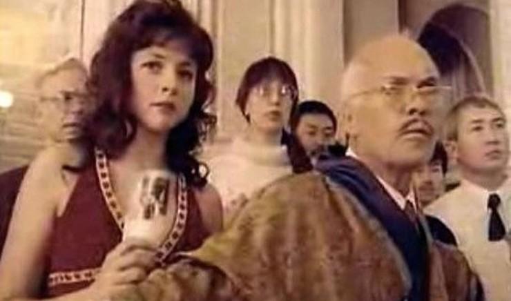 В фильме у Анны была эпизодическая роль