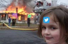 Наташа, Марк все уронил: шутки и мемы про глобальный сбой в работе Facebook, WhatsApp и Instagram