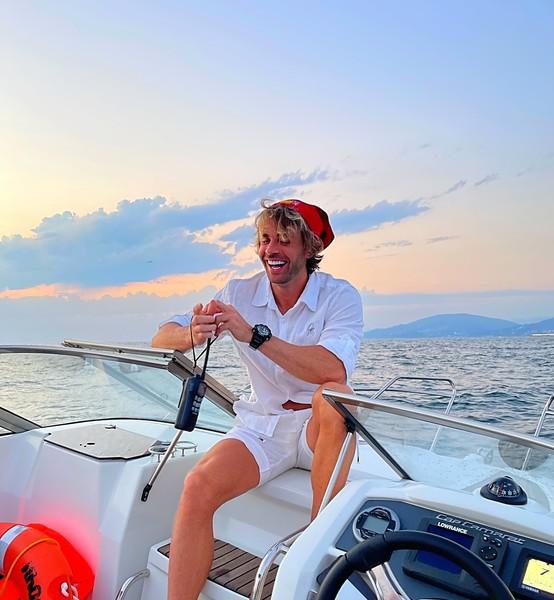 Недавно Федорин отдыхал в Ницце