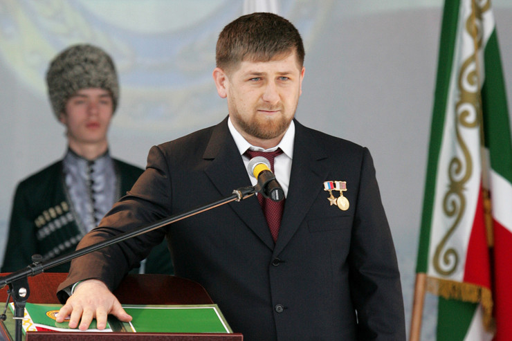 В 2007 году Рамзана Кадырова избрали президентом Чечни