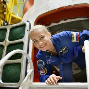 Юлия Пересильд и Клим Шипенко вернулись из космоса. Онлайн-трансляция