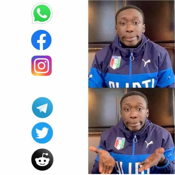 Новости: Наташа, Марк все уронил: шутки и мемы про глобальный сбой в работе Facebook, WhatsApp и Instagram  – фото №12