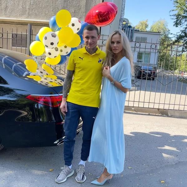 Павел Мамаев и Надежда Санько
