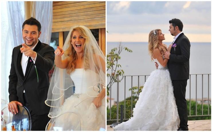 Восемь лет назад артисты сыграли свадьбу