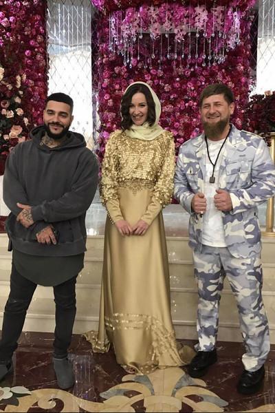 Кадыров поддерживает теплые отношения со многими звездами