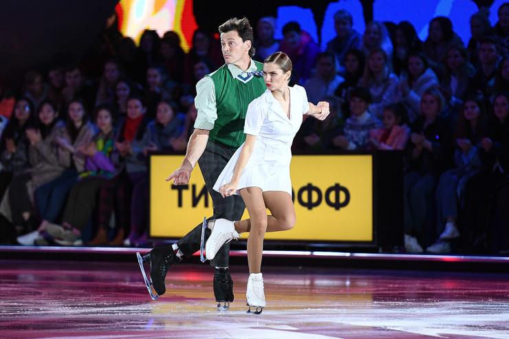 Дарья Мельникова и Максим Маринин