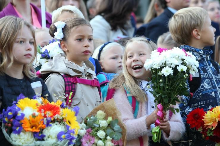 Ученики посетят школьную линейку